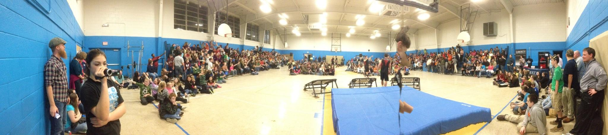 winter slam panorama